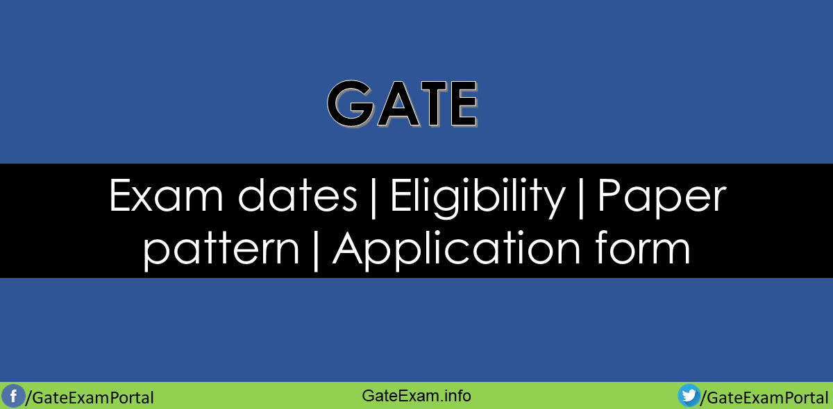 Gate-exam-dates-eligibility-paper-pattern-application-form