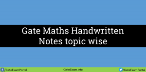Gate-maths-handwritten-topic-wise