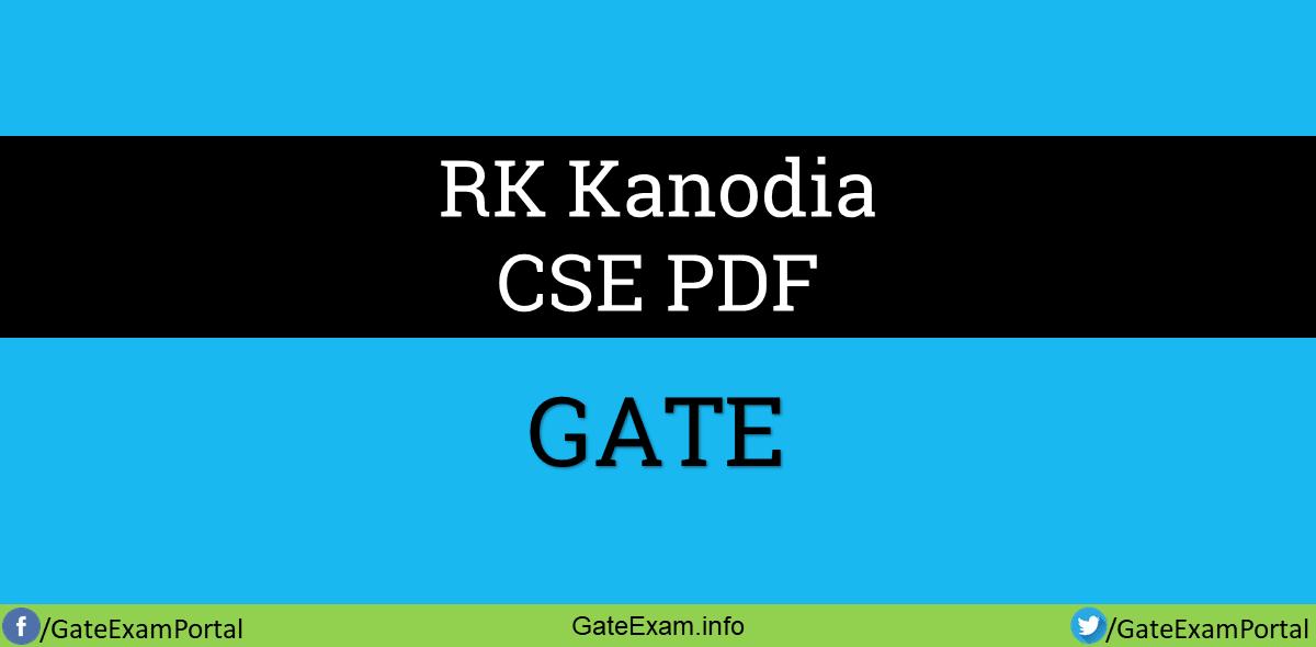 RK-Kanodia-CSE-PDF-book