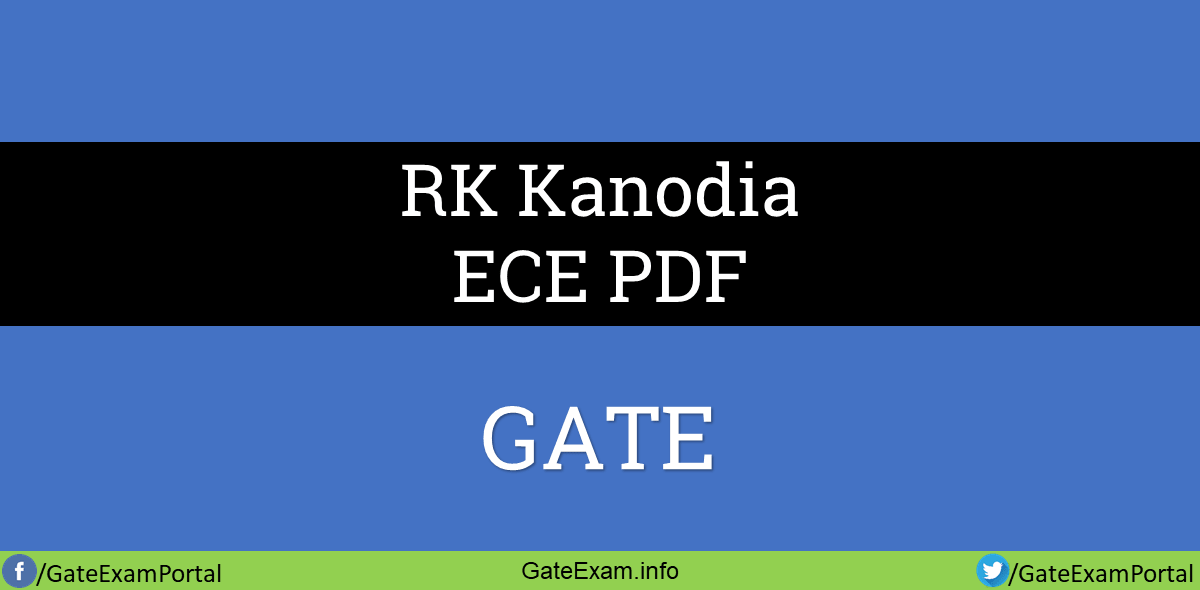 RK-kanodia-Gate-ece-PDF