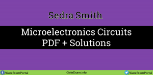 Sedra-smith-microelectronics-solutions-PDF