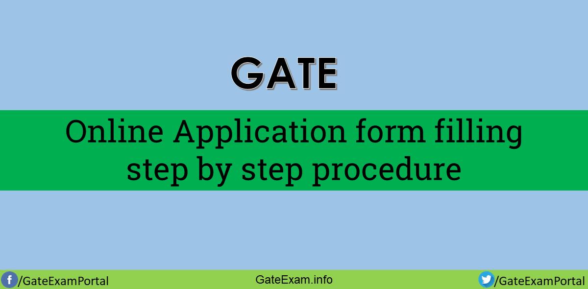 Gate-Online-application-form-filling-procedure