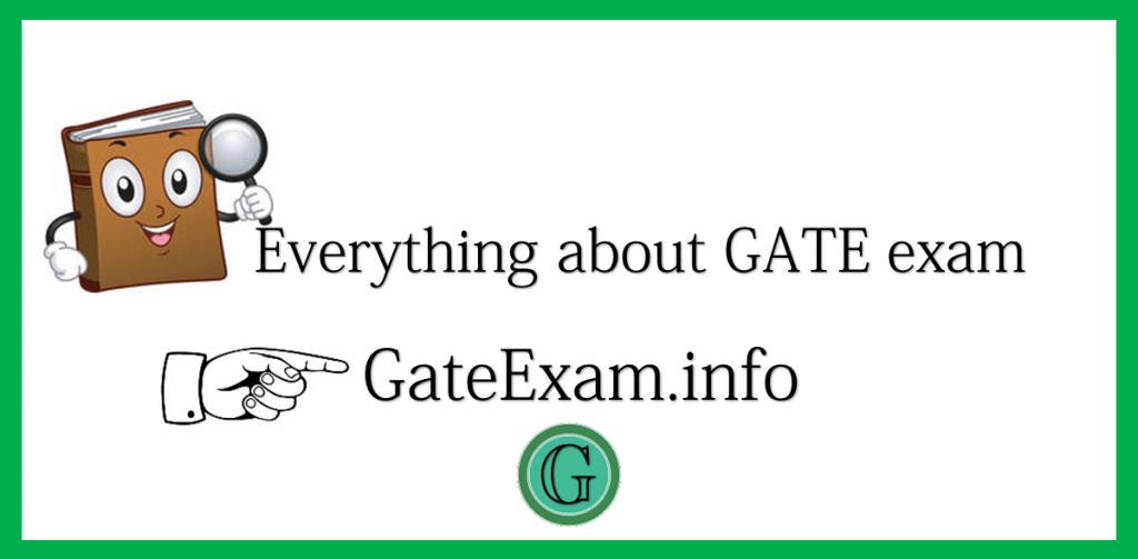 Gate-exam-info